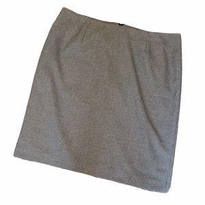 LAURA PLUS Black&White Check Knee Length Skirt 18